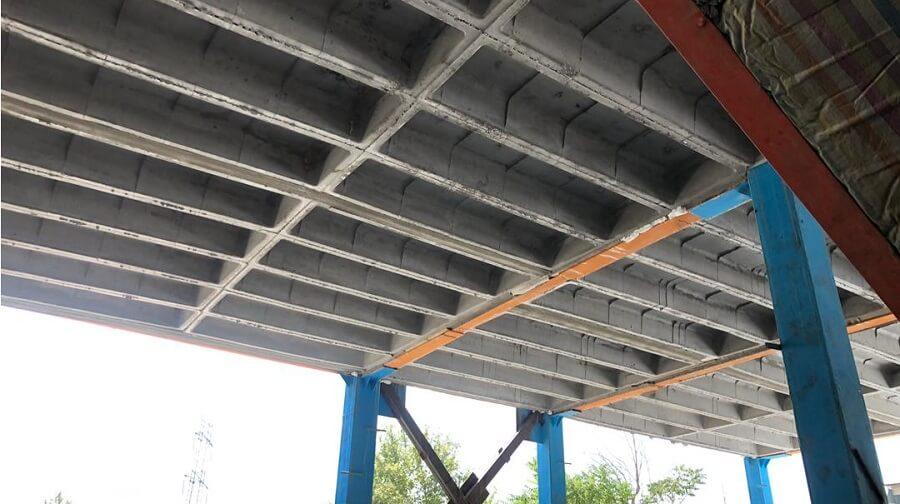 اهمیت اجرای سقف های وافل یک طرفه