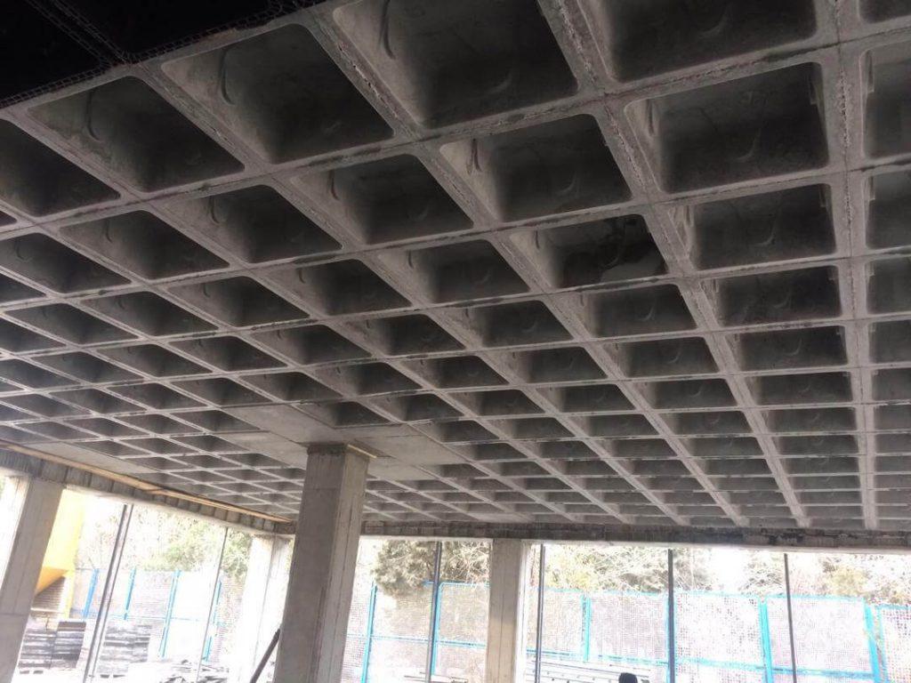 مراحل اجرای سقف وافل